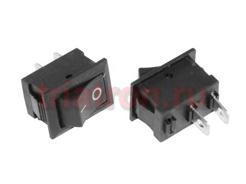 KCD1-101 (L-KLS7-013-10111BB) (2pin) 6A,250V ON-OFF переключатель KLS